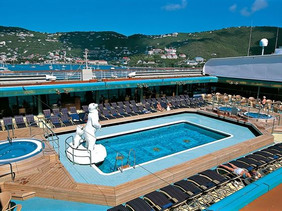 Holland America ms Zuiderdam - pool