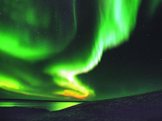 Northern Manitoba's night skies aurora borealis