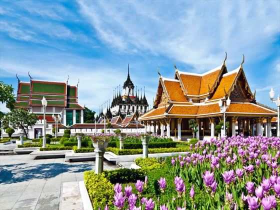 Traditional architecture in Bangkok