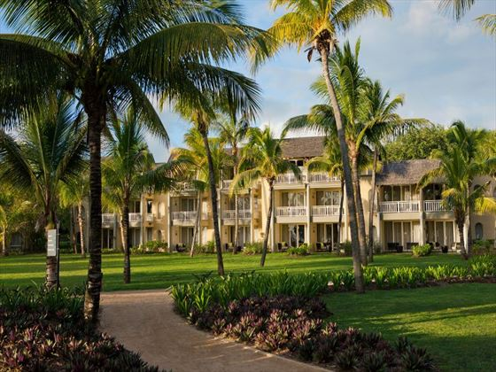 Exterior view of Outrigger Mauritius Resort