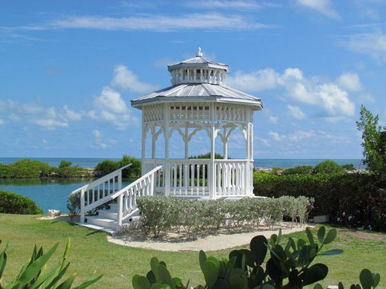 Outdoor Gazebo at Hawks Cay Resort