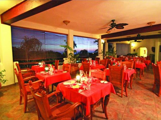 La Salsa restaurant at Sugar Cane Club Hotel & Spa