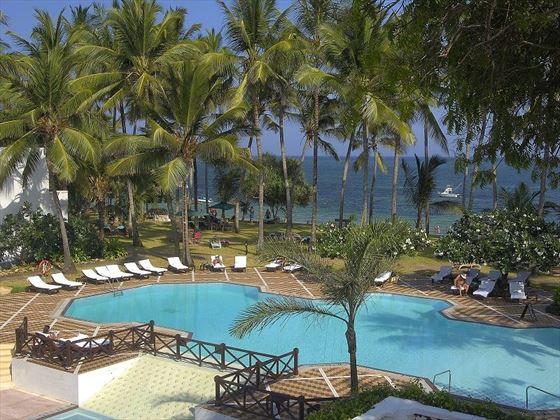 Serena Beach Resort aerial view