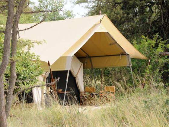Serengeti Under Canvas accommodation