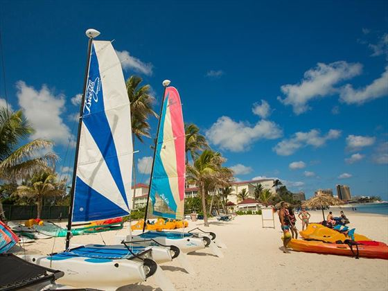 Water sport activities at Breezes Bahamas