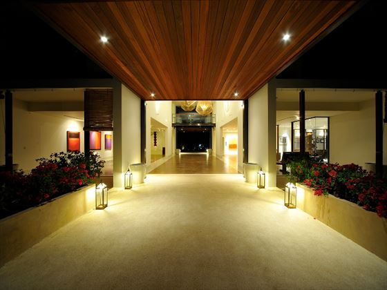 YaiYa Boutique Resort lobby