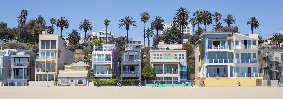 Santa Monica beach houses