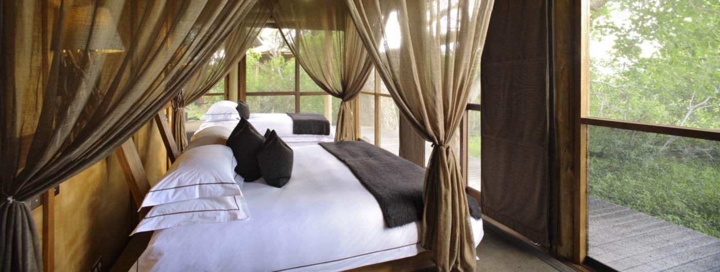 andBeyond Xudum Delta Lodge bedroom