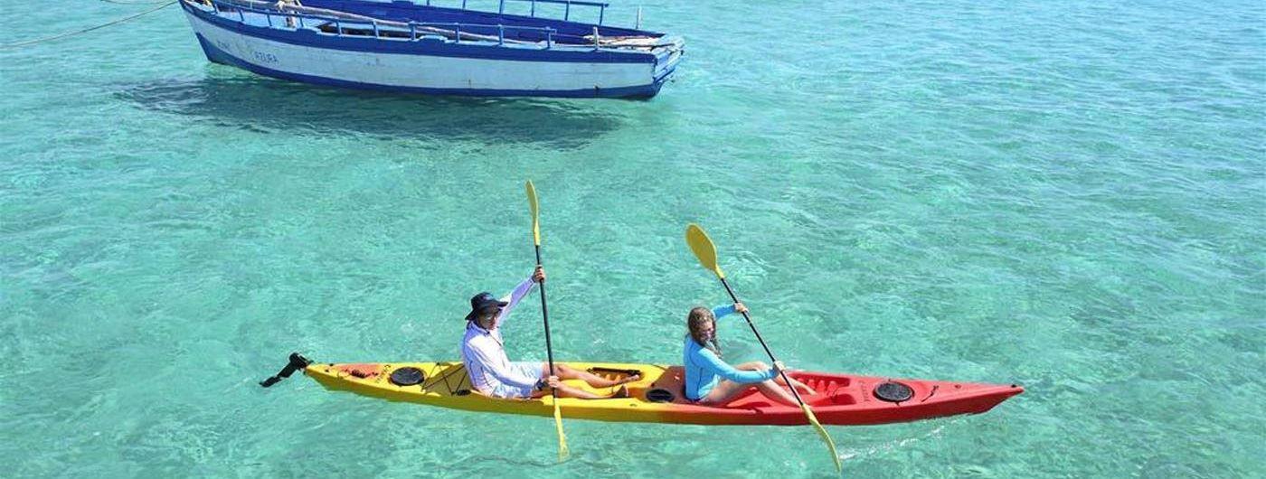 Azura Benguerra Island kayaking