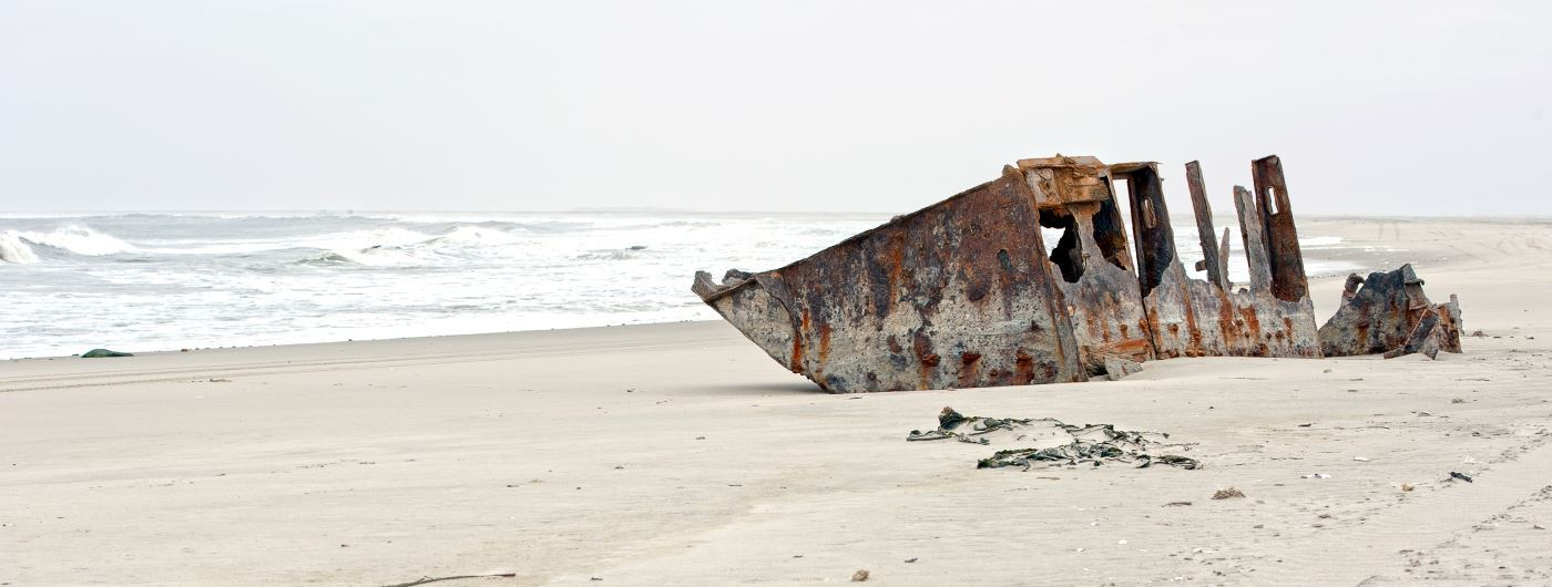 Skeleton Coast beach - getty