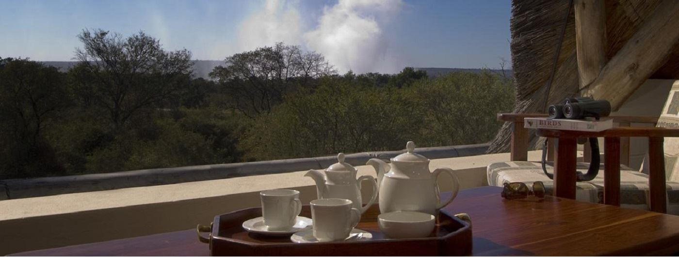 Ilala Lodge - view from an upper tier suite