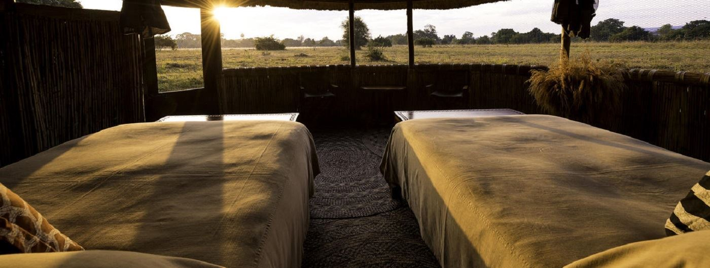 Kuyenda Bush Camp chalet views