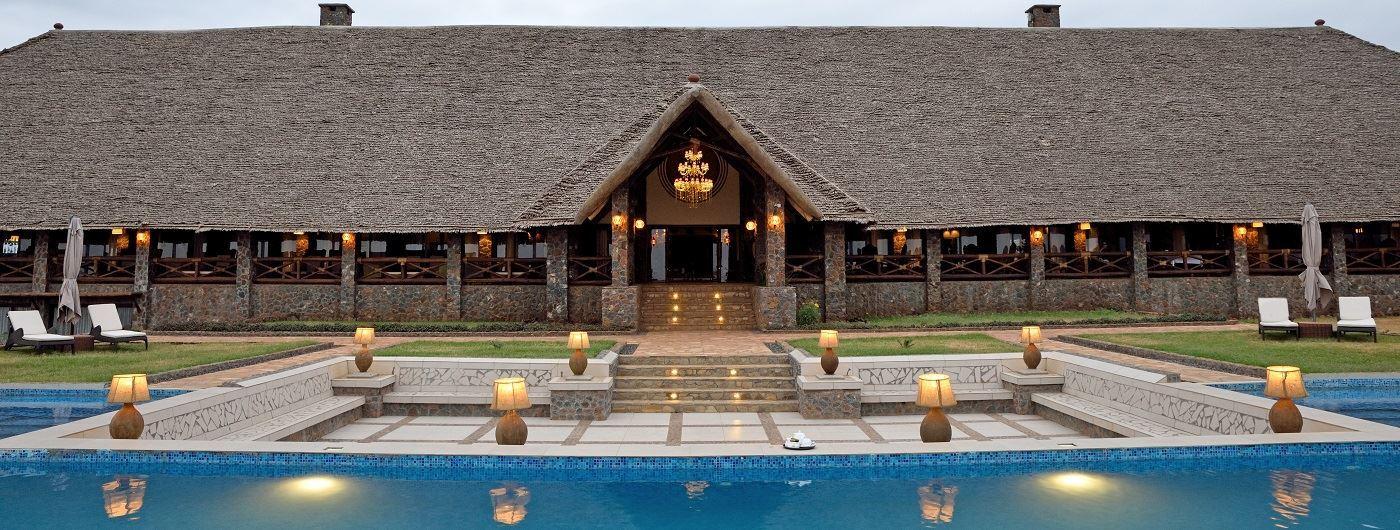 Lake Manyara Kilimamoja Lodge exterior