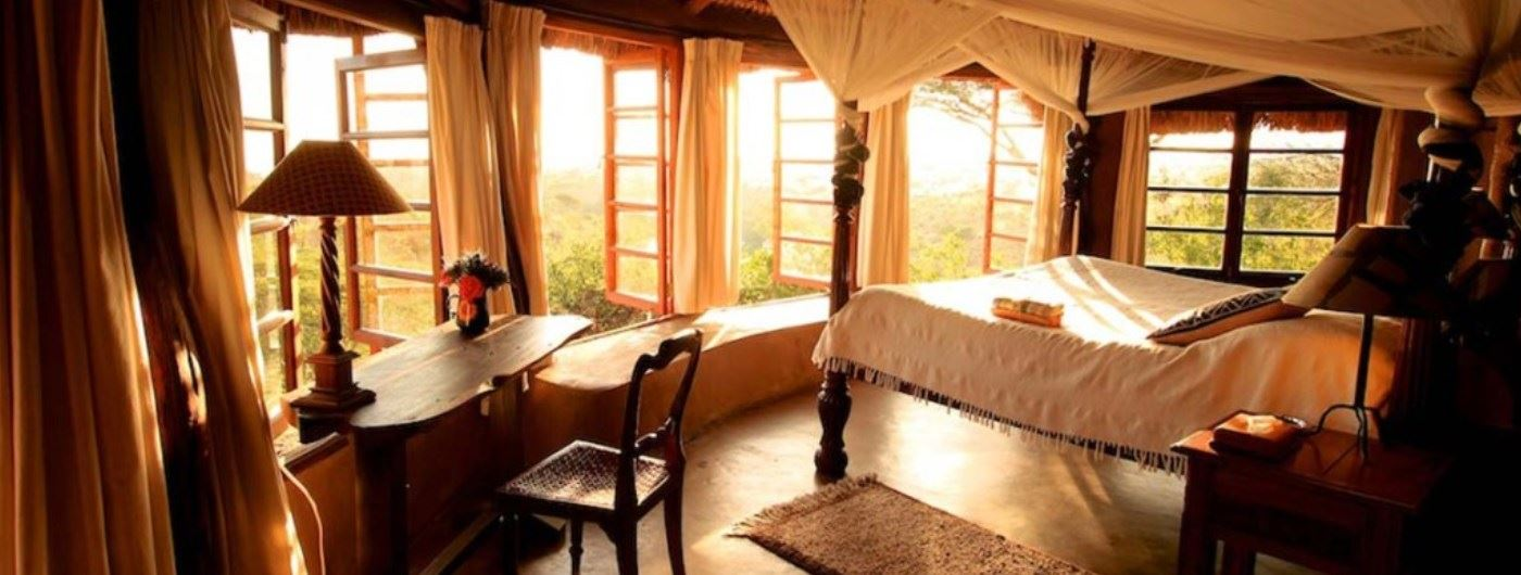 Lewa Wilderness room interior