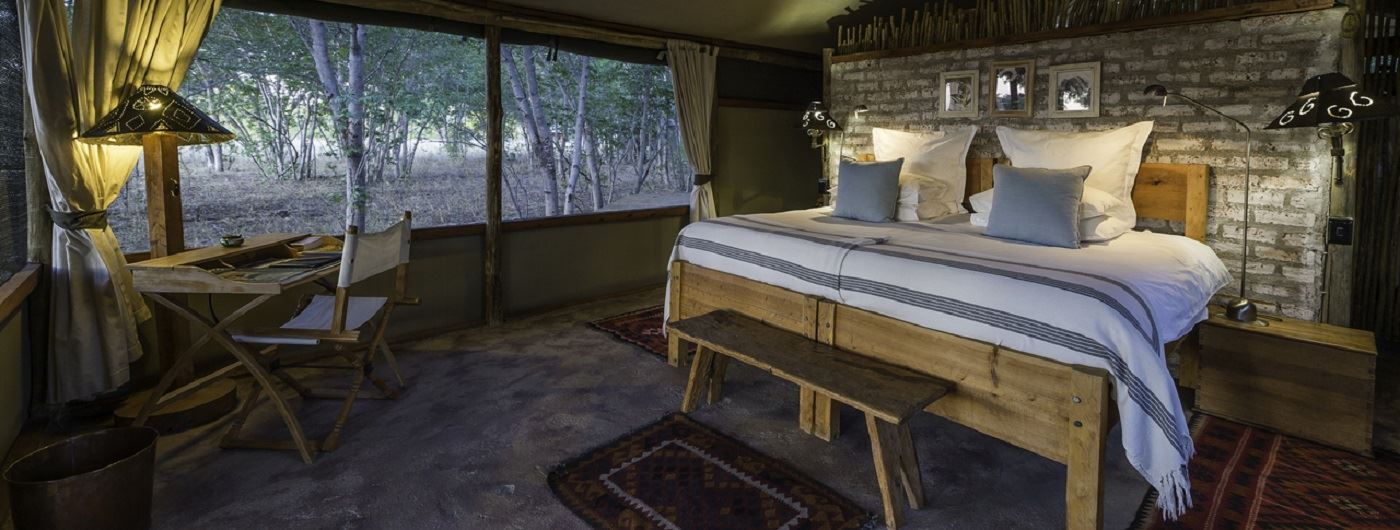Little Makalolo Camp tent interior