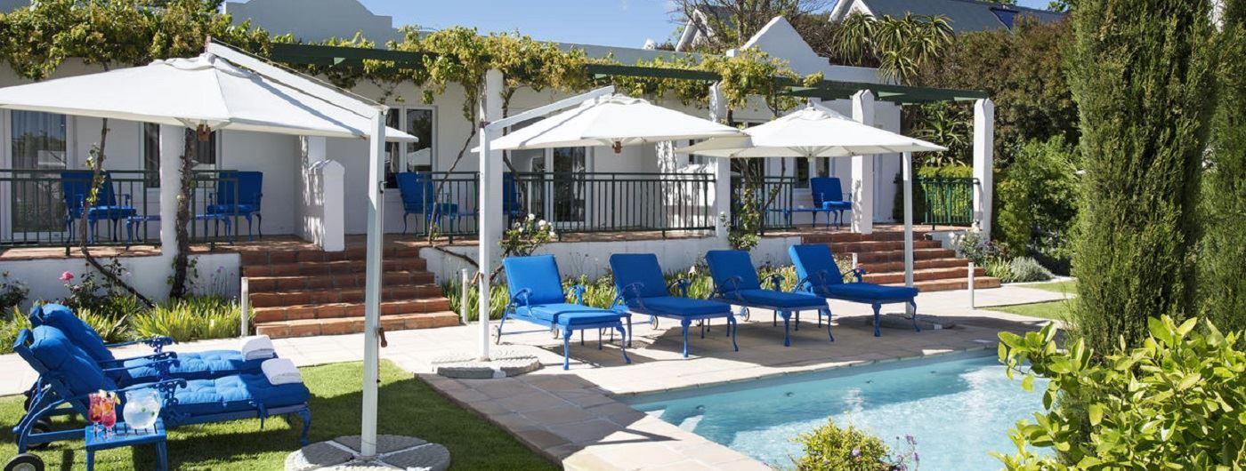 Majeka House pool area