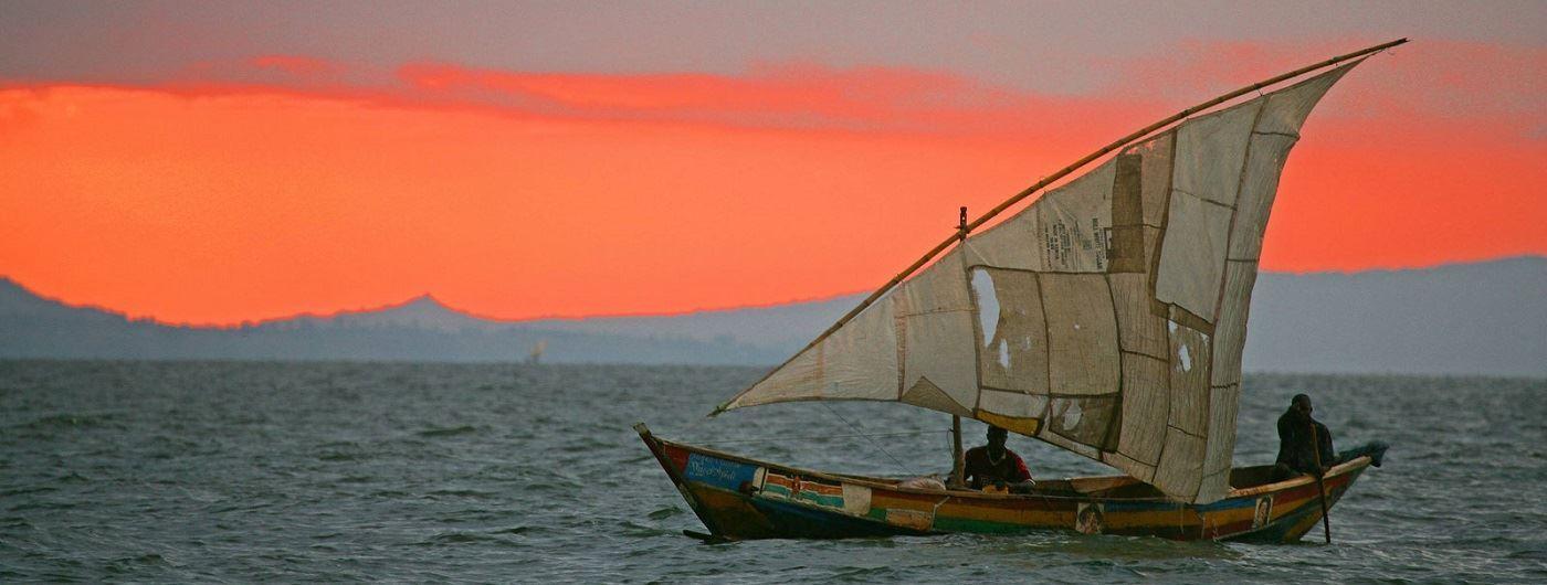 Mfangano Island Camp sailing