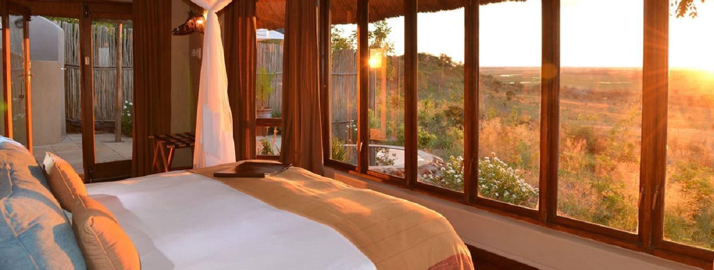 Ngoma Safari Lodge room interior