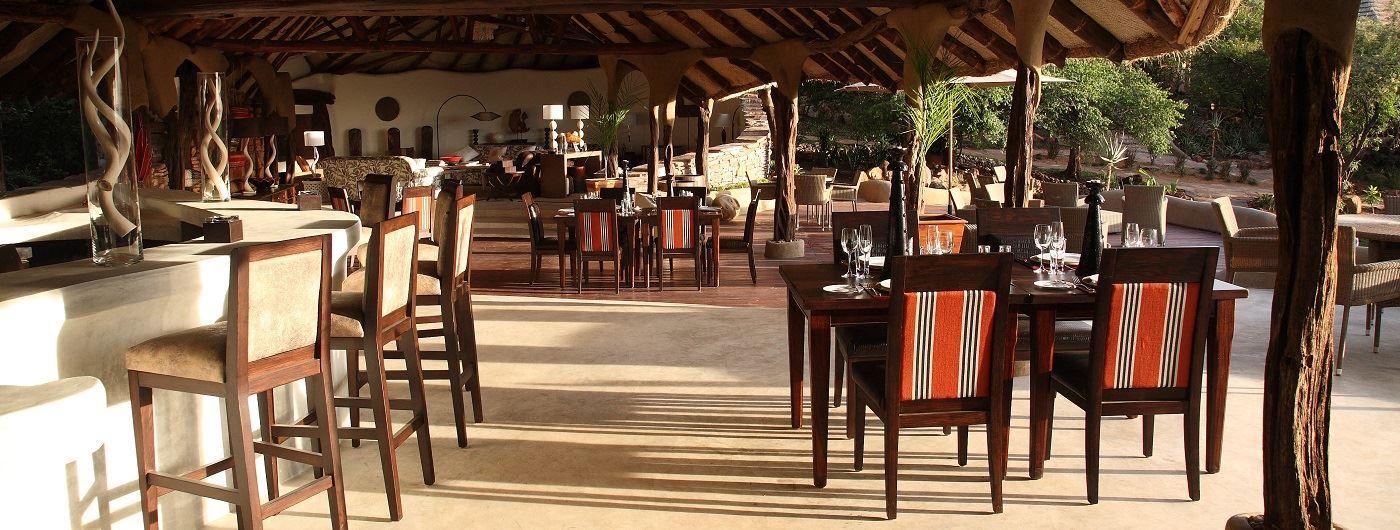 Olarro Lodge dining area