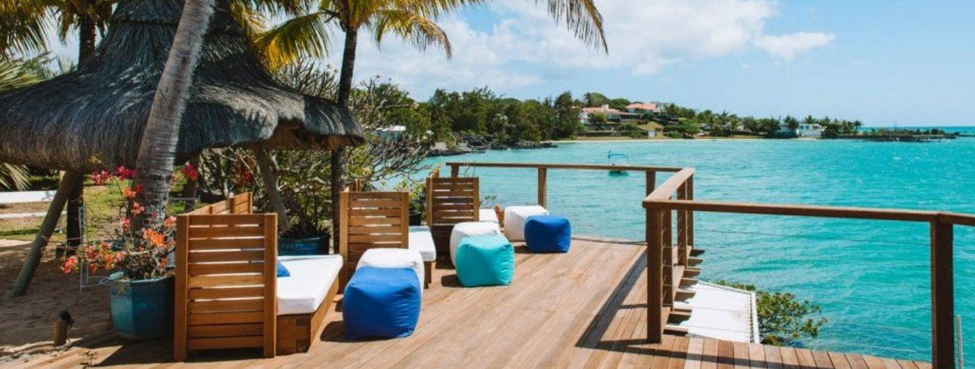 Paradise Cove Boutique beach decking