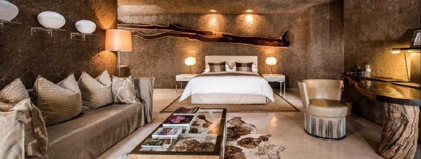 Sabi Sabi Earth Lodge suite interior
