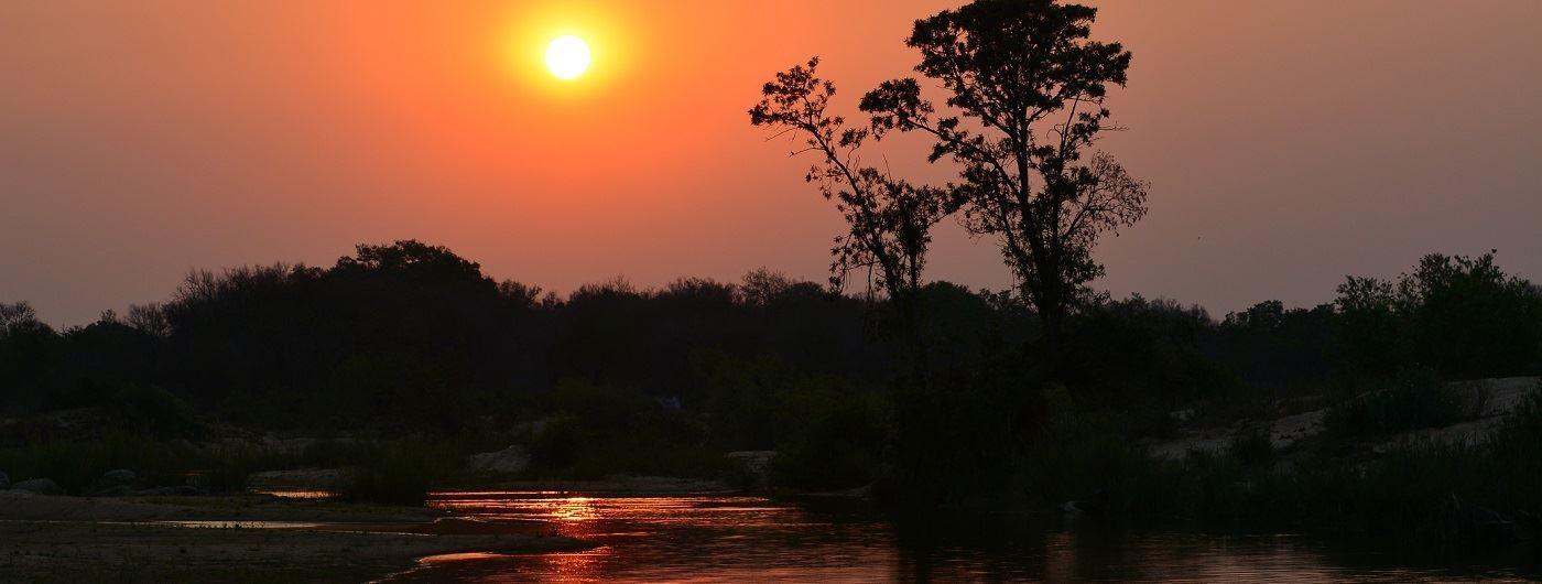 Sabi Sand Private Game Reserve sunset