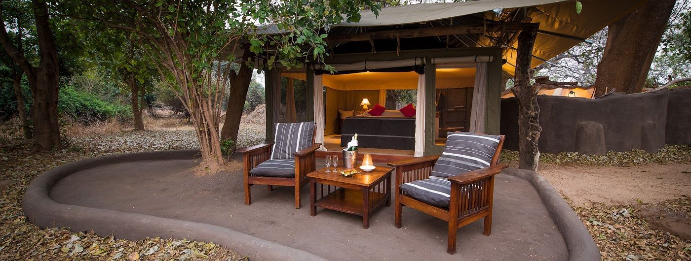 Tena Tena Camp private veranda