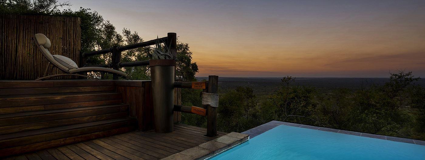 Ulusaba Rock Lodge - Makwela Suite private pool
