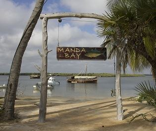 Manda Bay sign