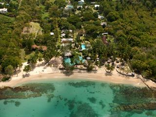 Areial view of East Winds - St Lucia & Bequia Twin Centre