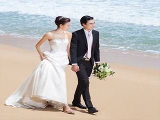 Bride & Groom at Anantara Seminyak