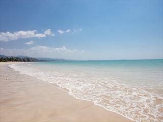 Bangsak beach view