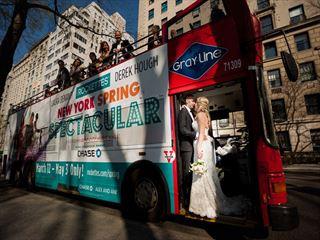 Central Park Wedding & Double Decker Bus Tour
