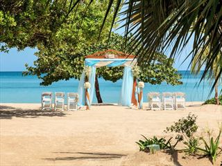 our choice of spectacular wedding locations on the beach