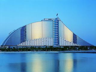 Exterior view of Jumeirah Beach Hotel