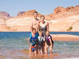 Lake Powell family holidays