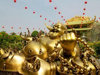 Ho Chi Minh city buddha statue