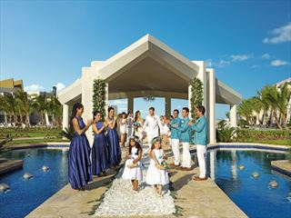 Wedding gazebo at Now Onyx Punta Cana