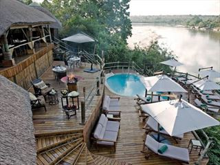 Pool at Serena Mivumo River Lodge