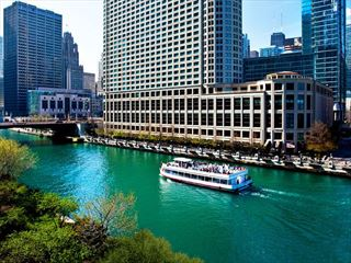 Sheraton Grand Chicago Exterior - Music Cities of the USA & Caribbean Cruise