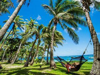Tokoriki Island Resort relaxing hammock