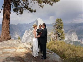 Wedding at Glacier Point, Yosemite
