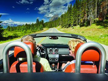 Road tripping Alberta