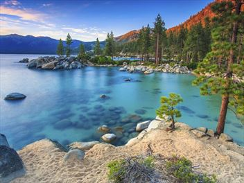 Lake Tahoe beach holidays