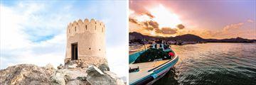 Al Badaiyah Fujarah, Pretty Fujairah Sunset