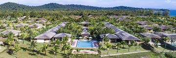 Fusion Resort Phu Quoc villas from above