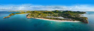 Aerial View at Galley Bay Resort & Spa