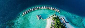 Grand Park Kodhipparu, Aerial View of Water Villas