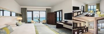 One Bedroom Family Suite at JA Ocean View Hotel