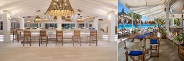 Sunset restaurant at Palm Island Resort & Spa